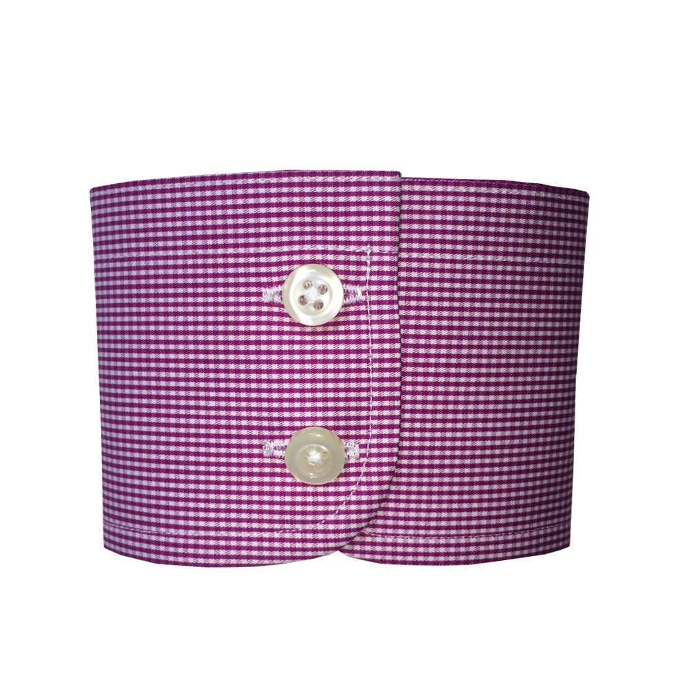 Rounded 2 Button Cuff