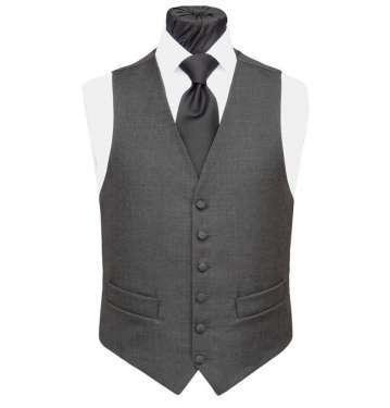 Charcoal Grey Waistcoat