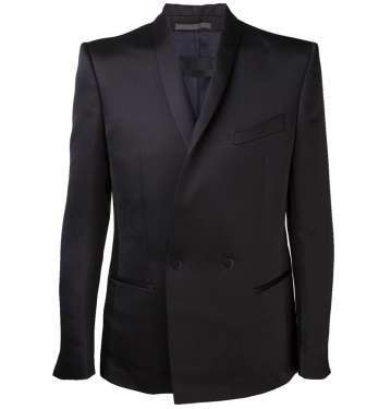 Two Button Shawl Collar Suit