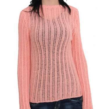 Pink Coloured Tranparent Blouse