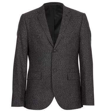 Black Fleck Jacket