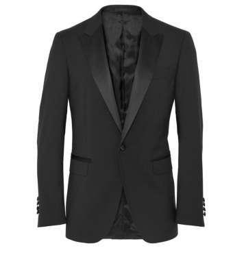 Slim-Fit Wool Tuxedo