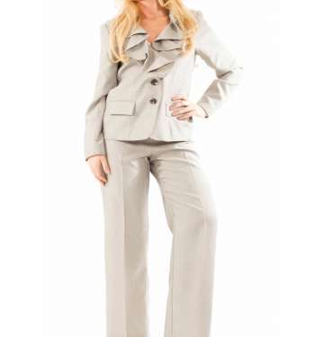 Cream Trouser Suit