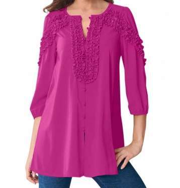 Purple Coloured Blouse