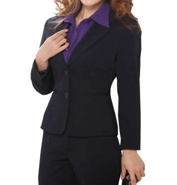 Black Trouser Suit