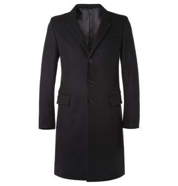 Slim-Fit Wool-Blend Overcoat