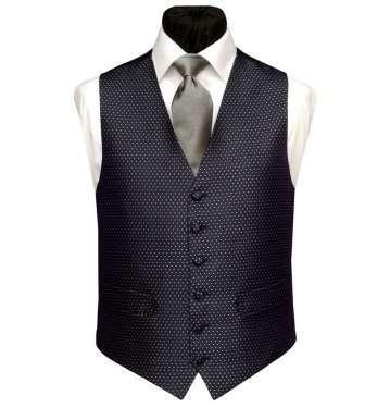 Grey Spot Waistcoat